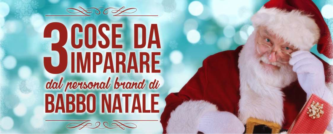 babbo natale personal brand