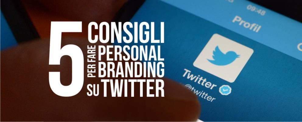 Marco Tomasone personal branding twitter