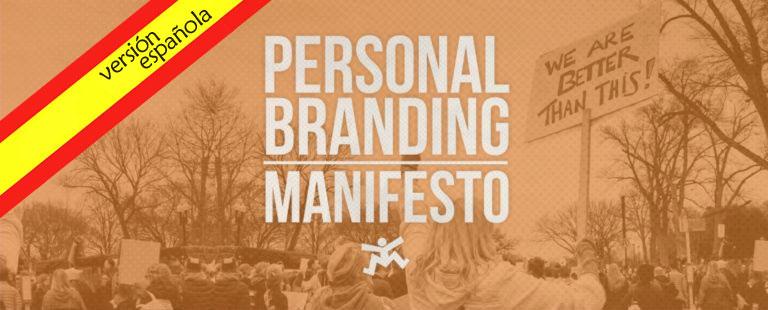 El personal branding manifesto